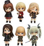 Girls und Panzer der Film Mini Figures Nendoroid Petite 6-Set Other High Schools Ver. 7 cm