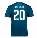 2017-18 Real Madrid Third Shirt (Asensio 20) - Kids