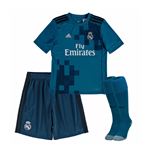2017-2018 Real Madrid Adidas Third SMU Mini Kit