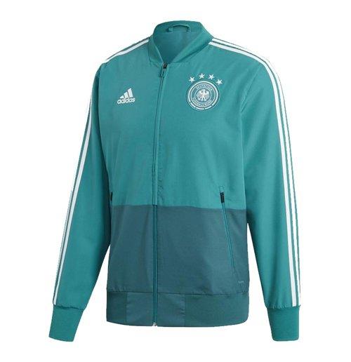 2018 2019 Germany Adidas Presentation Jacket Green For