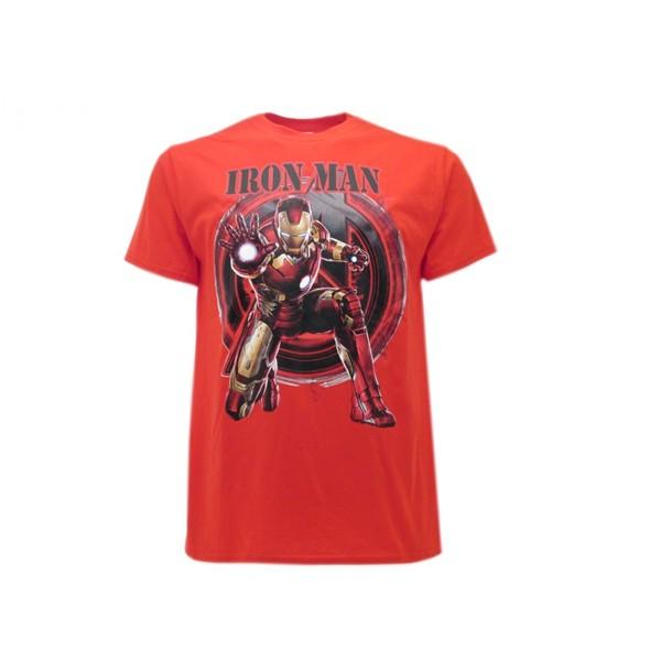 official iron man t shirt avengers marvel buy online on offer. Black Bedroom Furniture Sets. Home Design Ideas