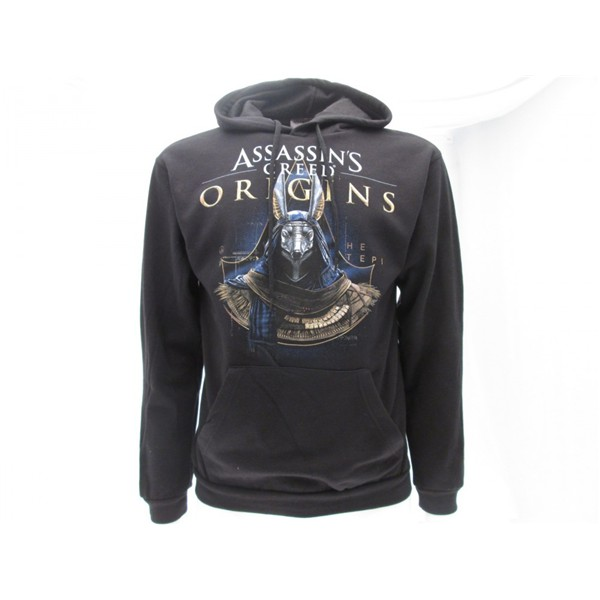 Official Assassins Creed Hoodie Origins Anubis Buy Online On Offer