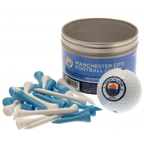 Manchester City F.C. Ball & Tee Set
