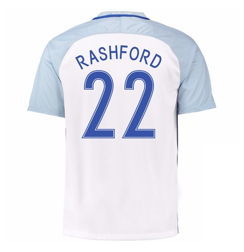2016-17 England Home Shirt (Rashford 22) - Kids