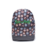Rick And Morty - Logo and Big Faces Backpack