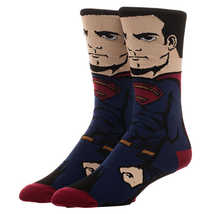 Justice League SUPERMAN Portrait Socks