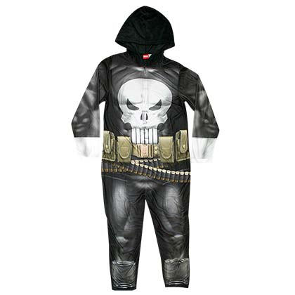PUNISHER Men's Pajama Union Suit