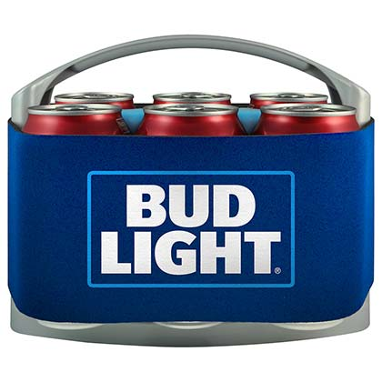 BUD LIGHT Six Pack Cooler