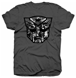 Hasbro - Transformers Autobot Shield BLACK/WHITE T-SHIRT (Unisex TG. 2)