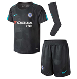 2017-2018 Chelsea Third Nike Little Boys Mini Kit