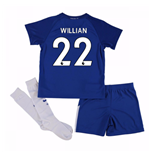 2017-18 Chelsea Home Mini Kit (Willian 22)