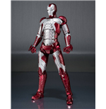 Iron Man 2 S.H. Figuarts Action Figure Iron Man Mark V & Hall of Armor Set 15 cm
