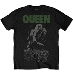 Queen Mens Tee: News of the World 40th Full Cover