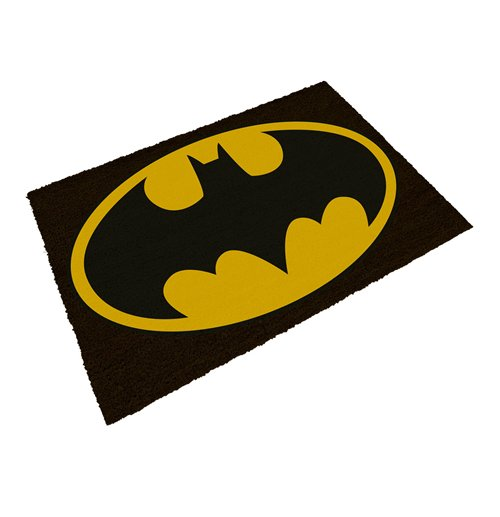 3c23f3119f5e Official DC Comics Doormat Batman Logo 50 x 70 cm  Buy Online on Offer