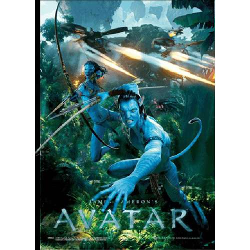 Avatar 2 Poster: Official Avatar 3D Poster Avatar Design: Leap: Buy Online