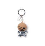 Marvel - Nick Fury Kawaii 3D Rubber Keychain