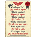 Warhammer Fantasy Battle Sign - Pledge