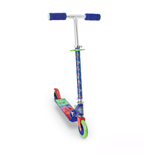 PJMASKS Kid's Two Wheel Inline Foldable Scooter with Adjustable Handle