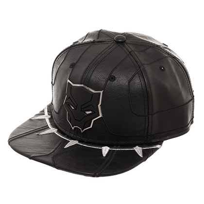 BLACK PANTHER Suit Up Black Snapback Hat