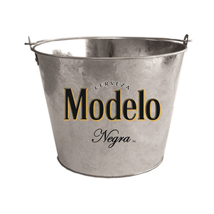 modelo negra galvanized beer bucket with bottle opener for only at merchandisingplaza uk. Black Bedroom Furniture Sets. Home Design Ideas