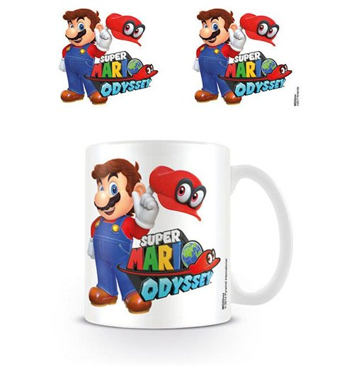 Super Mario Odyssey Mug Mario with Cappy