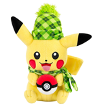 Pokemon Plush Figure Pikachu (Winter Edition) 20 cm