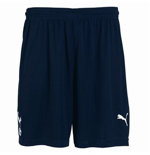2011-12 Tottenham Home Puma Football Shorts (Navy)