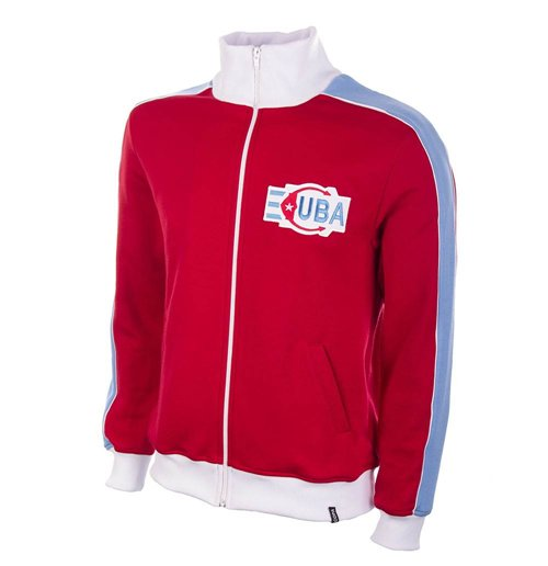 Cuba 1980s Retro Football Jacket
