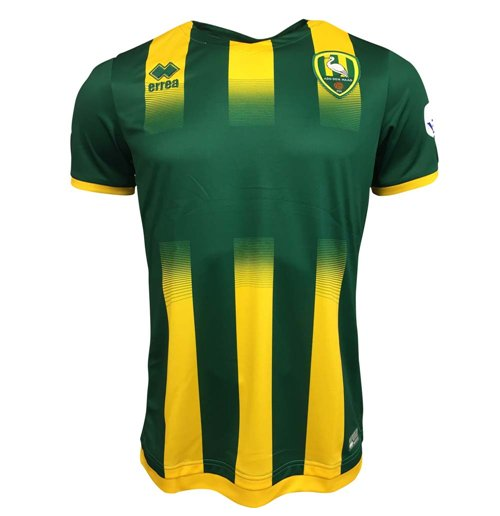 2017-2018 Ado Den Haag Errea Home Football Shirt
