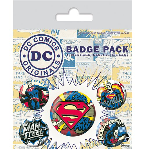 DC Comics Superheroes Pin 286446
