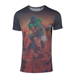 DOOM Men's Box Art Sublimation T-Shirt, Small, Multi-colour