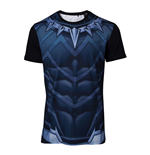 MARVEL COMICS Black Panther Men's Sublimation T-Shirt, Small, Multi-colour