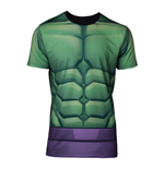 MARVEL COMICS Incredible Hulk Men's Sublimation T-Shirt, Extra Large, Multi-colour