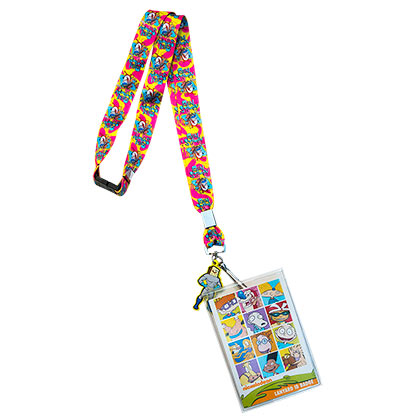 Nickelodeon Ren and Stimpy Keychain Lanyard