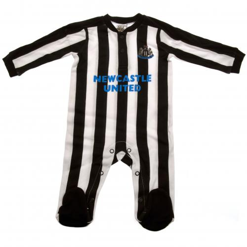 Newcastle United F.C. Sleepsuit 3/6 mths ST