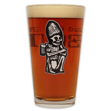 Rogue Logo Dead Guy Ale Pint Glass