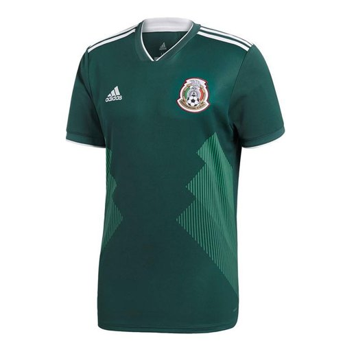 2018-2019 Mexico Home Adidas Football Shirt