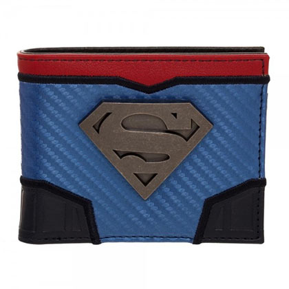 SUPERMAN Carbon Fiber Bifold Wallet