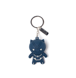 Black Panther - Kawaii 3D Rubber Keychain