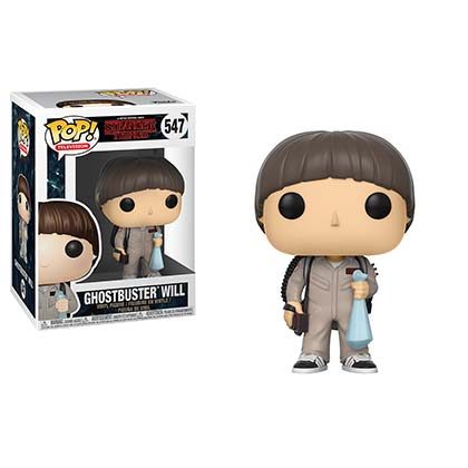 STRANGER THINGS Funko Pop Ghostbuster Will Vinyl Figure