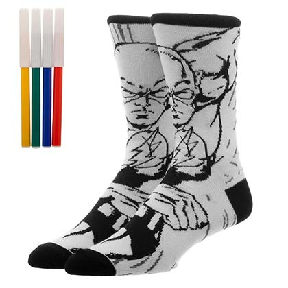 The FLASH Color Yourself Socks