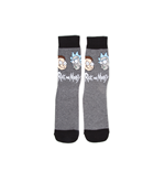 Rick and Morty - Big Faces Crew Socks