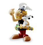 Asterix & Obelix Figure - Asterix With Idefix