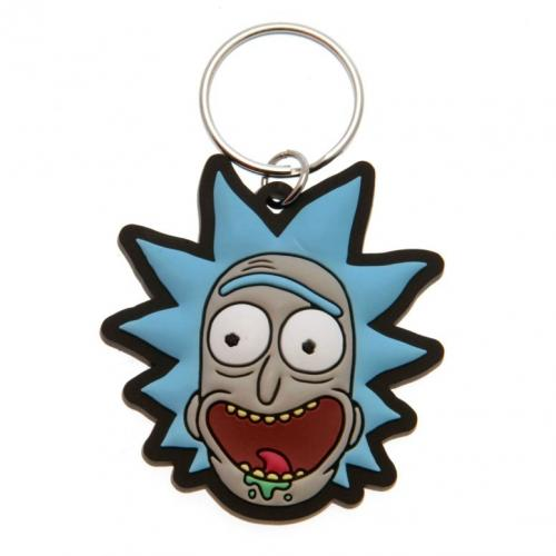 Rick And Morty Keyring Rick
