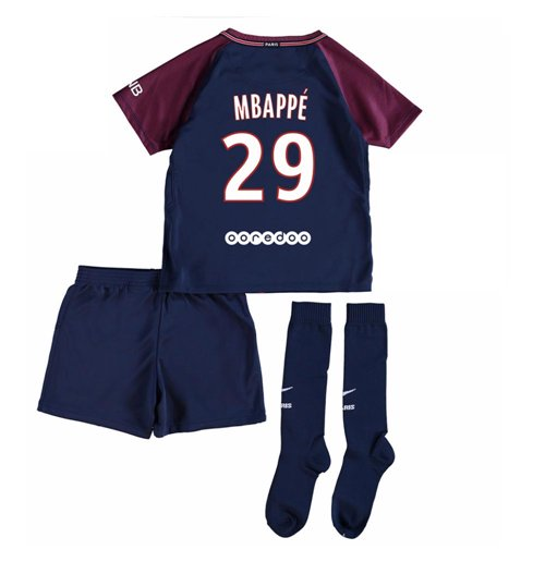 pretty nice c1418 4488e 2017-18 Psg Home Baby Kit (Mbappe 29)