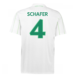2016-17 Vfl Wolfsburg Away Shirt (Schafer 4) - Kids