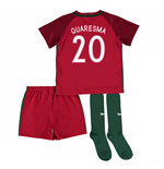 2016-17 Portugal Home Mini Kit (Quaresma 20)