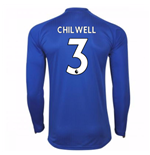 2017-18 Leicester City Home Long Sleeve Shirt (Chilwell 3)