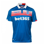 2017-2018 Stoke City Macron Away Football Shirt