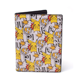 POKEMON All-over Pikachu Bi-fold Wallet, Multi-colour